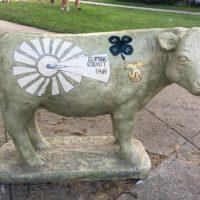 cow statue